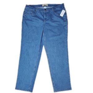 NWT Just My Size Classic Denim Jeans Size 20W